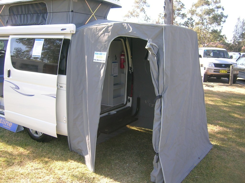 Canvas Rear Door Tent