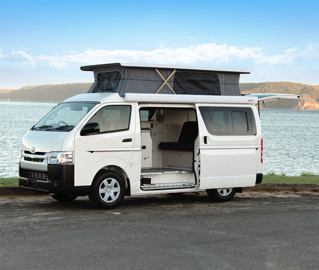 Toyota Hiace | Frontline Camper Conversions Pty Ltd