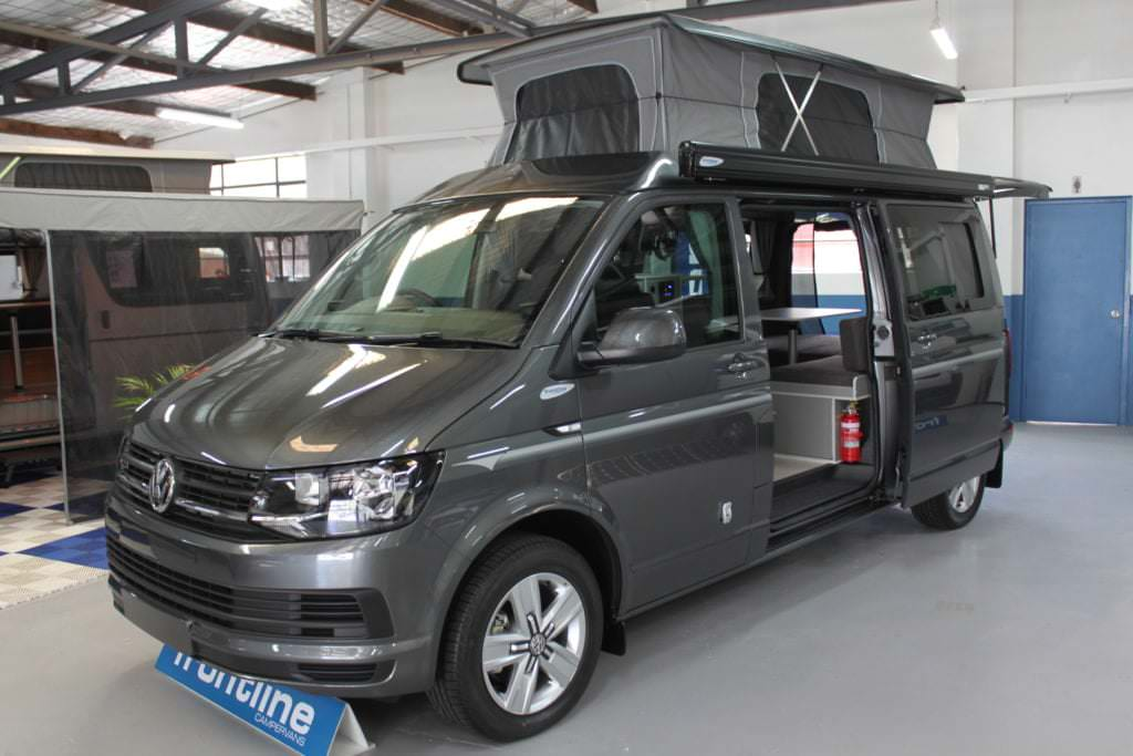 Vw T6 4motion All Wheel Drive Frontline Camper