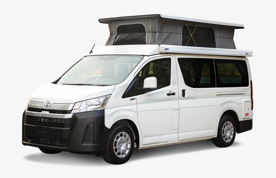 Frontline Toyota Hiace Campervan Australia Camper All-Wheel Drive