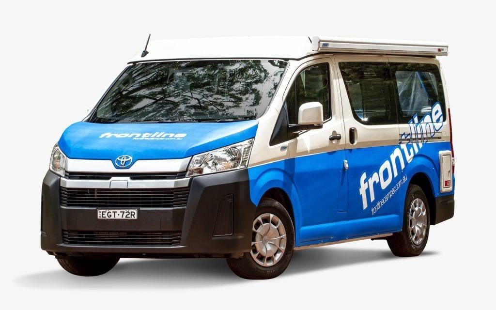 Frontline Toyota Hiace Campervan Australia Camper