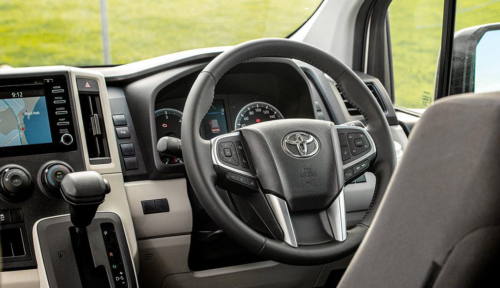 Toyota Hiace Frontline Campervan interior
